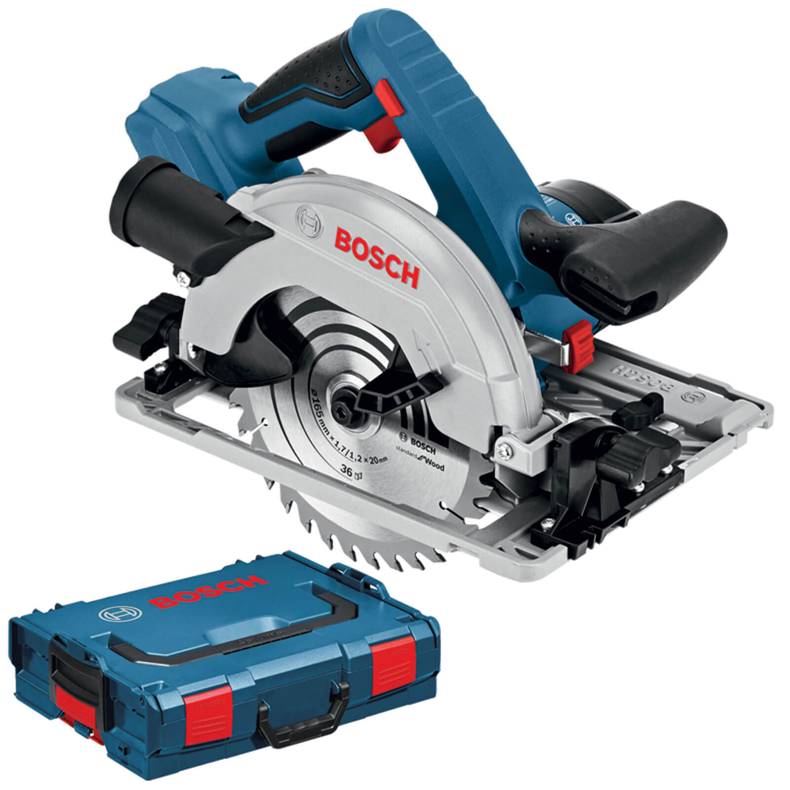 Image of Bosch GKS 18 V-57 Cordless Circular Saw No Batteries No Charger Case