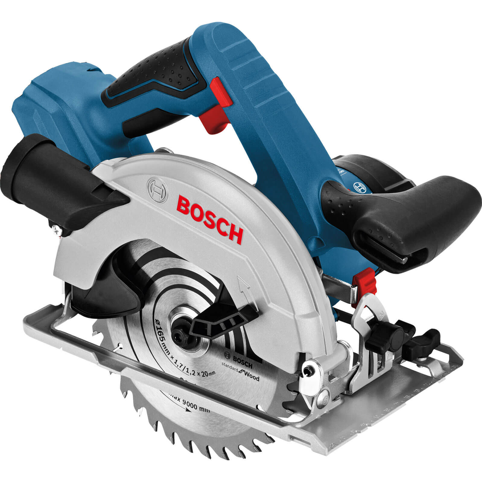 Image of Bosch GKS 18 V-57 Cordless Circular Saw No Batteries No Charger No Case