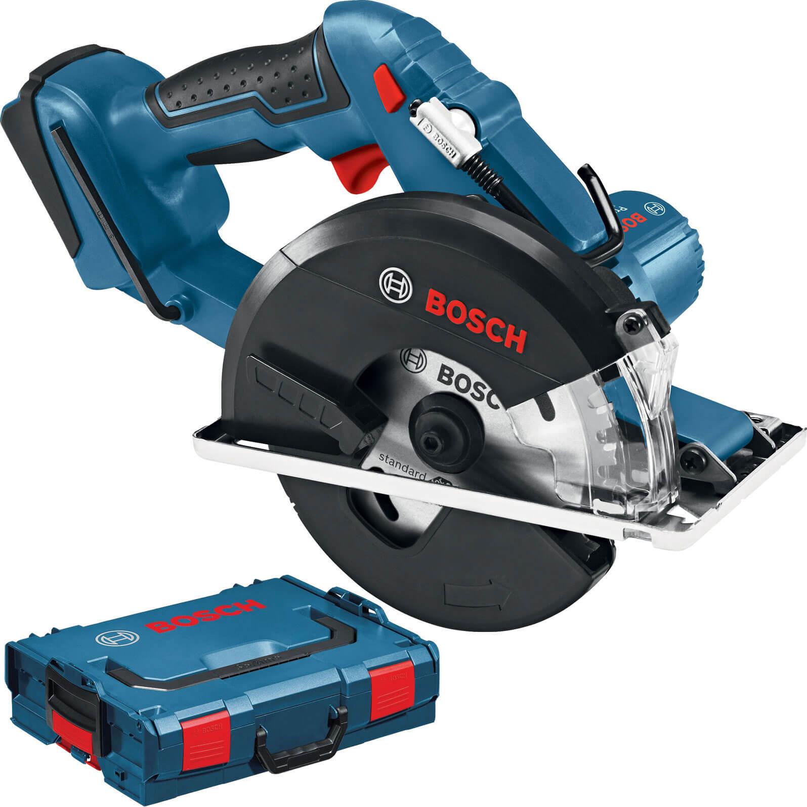 Image of Bosch GKM 18 V-LI Cordless Metal Cutting Circular Saw No Batteries No Charger Case