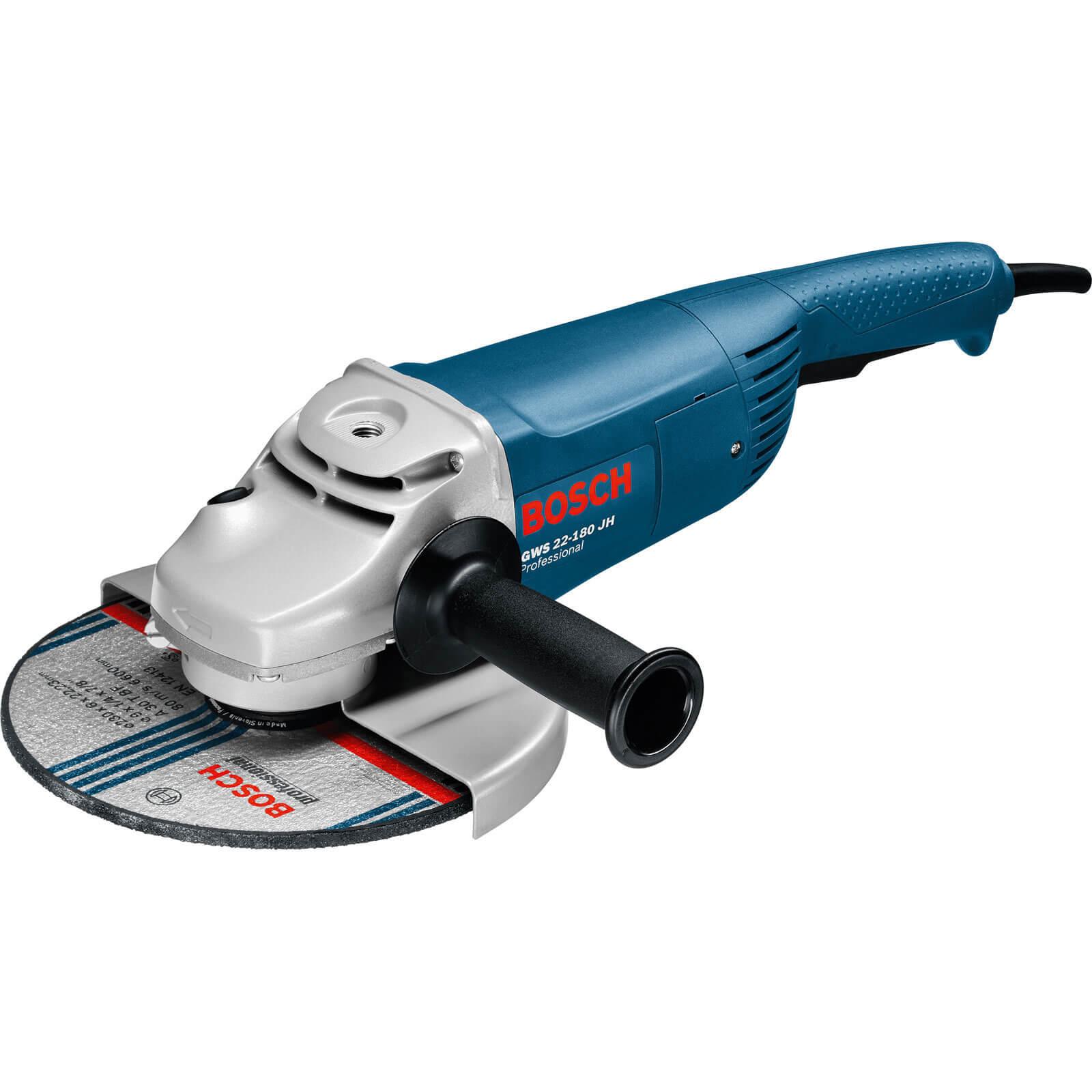 Bosch GWS22180 Angle Grinder 180mm 240v