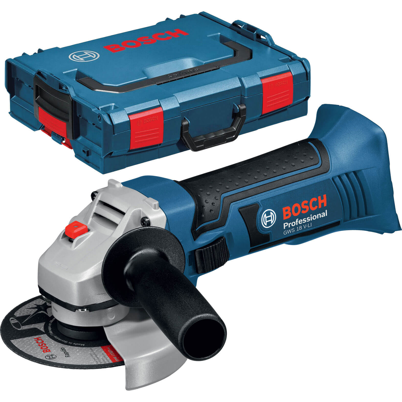 Bosch GWS18115 VLI 18v Cordless Angle Grinder 115mm No Batteries No Charger Case