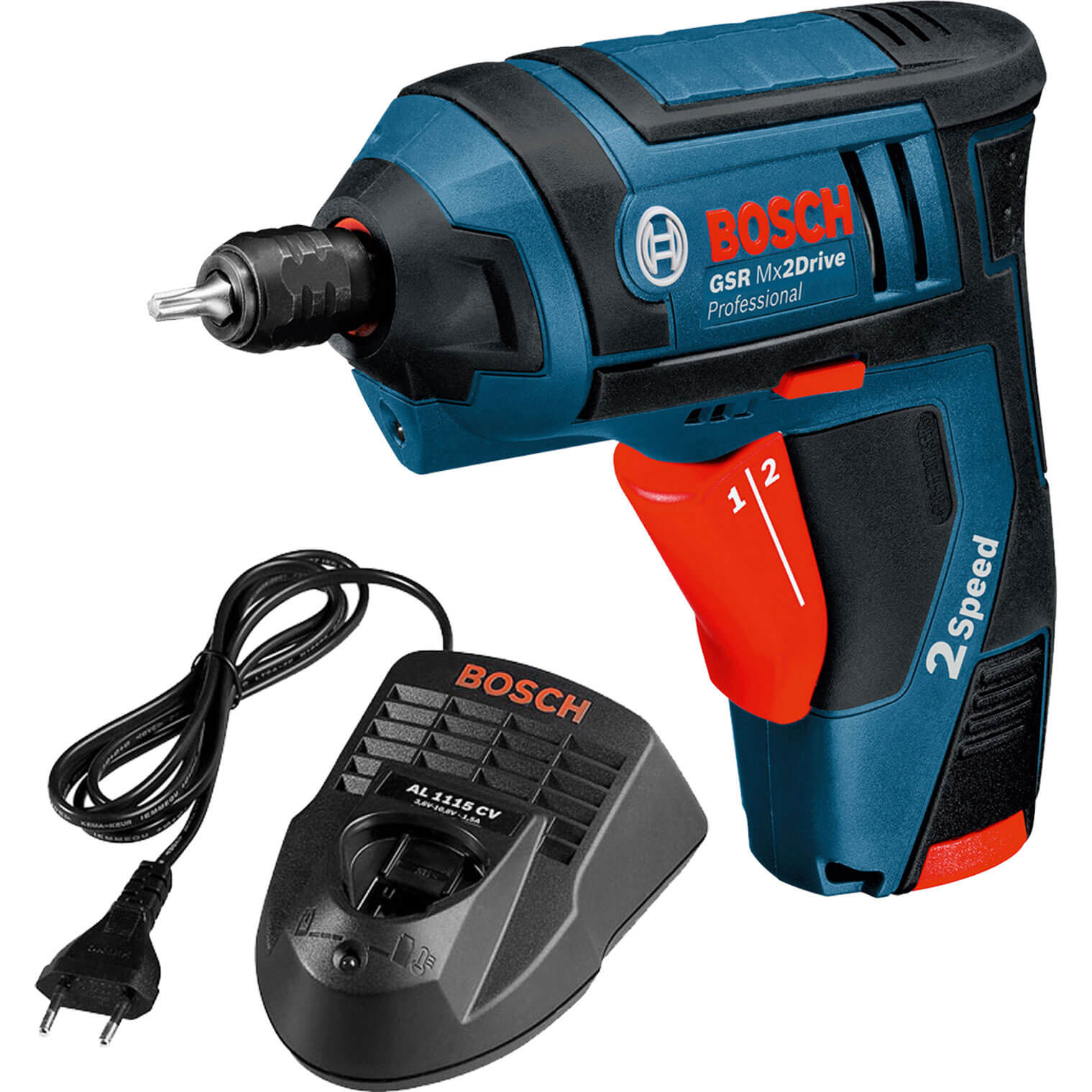 bosch gsr 3 6 v li mx2drive cordless screwdriver. Black Bedroom Furniture Sets. Home Design Ideas