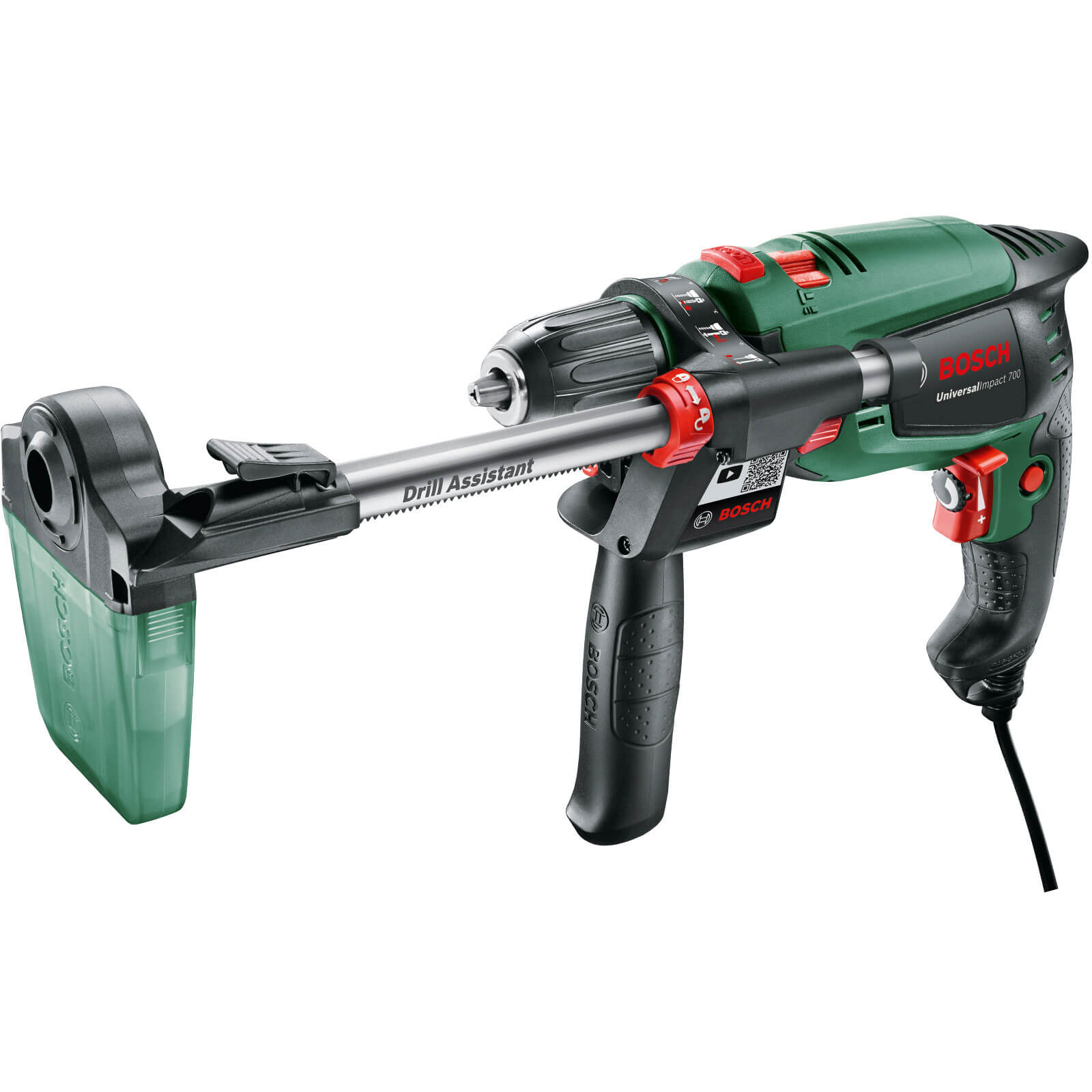 Bosch UNIVERSALIMPACT 700 Hammer Drill with Drill Assistant 240v