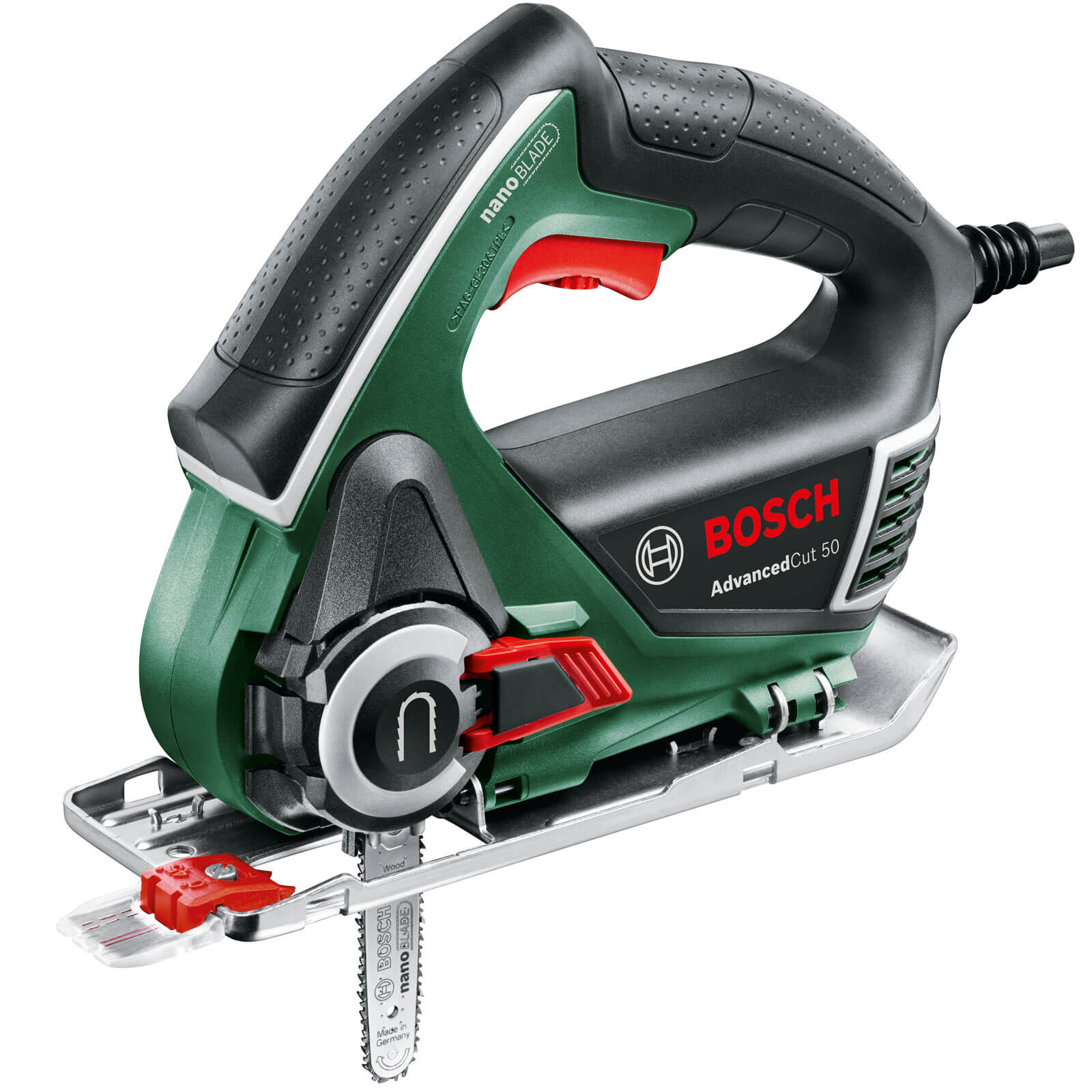bosch advancedcut 50 electric nanoblade jigsaw. Black Bedroom Furniture Sets. Home Design Ideas