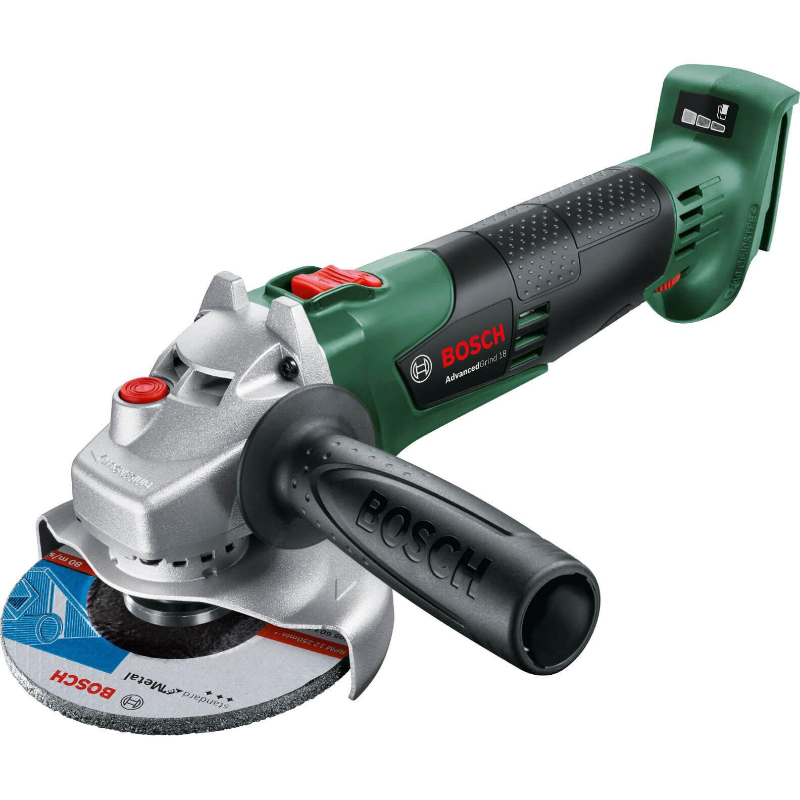 Image of Bosch ADVANCEDGRIND 18v Cordless Angle Grinder 125mm No Batteries No Charger No Case