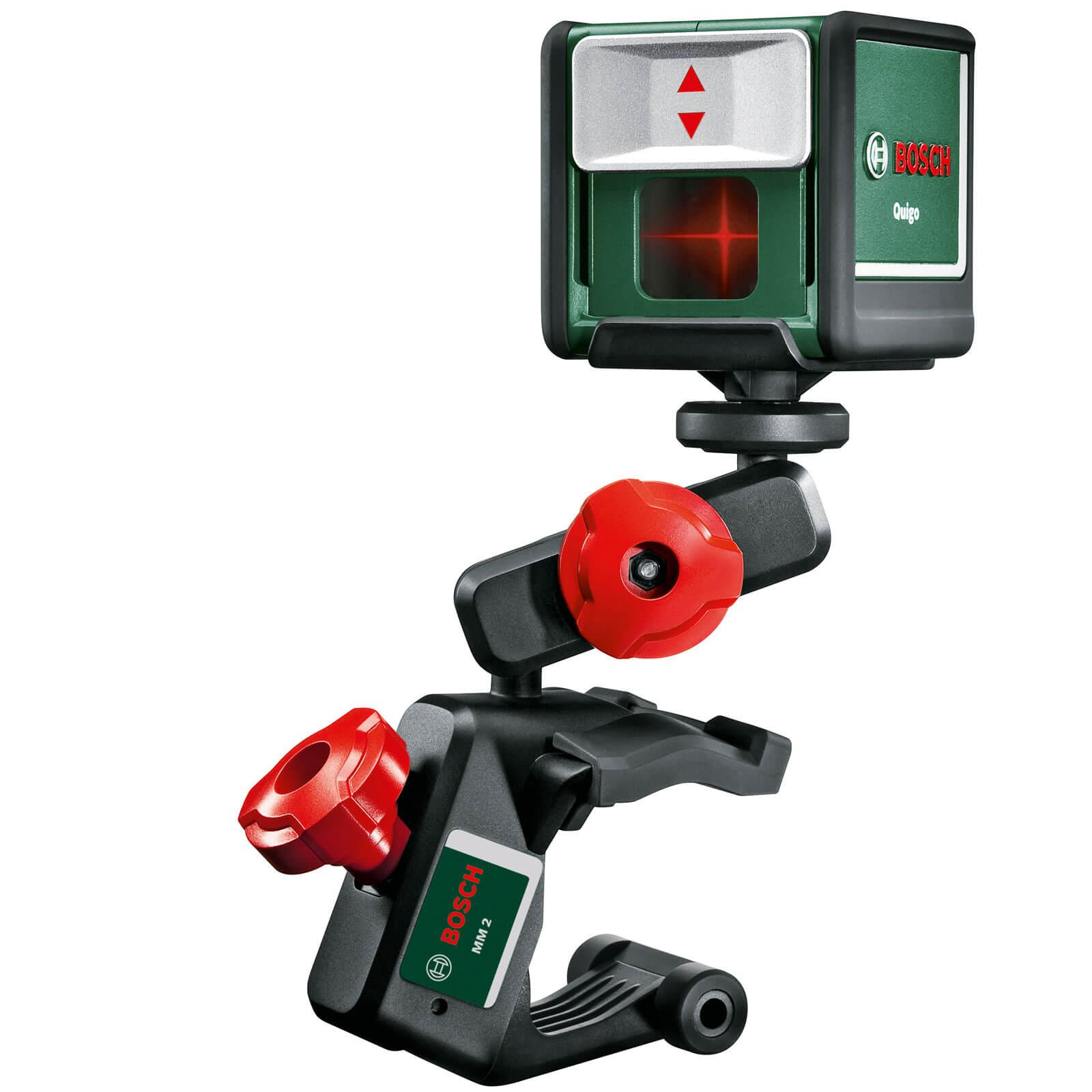 Bosch quigo 2 cross line laser for Niveau laser bosch quigo 2