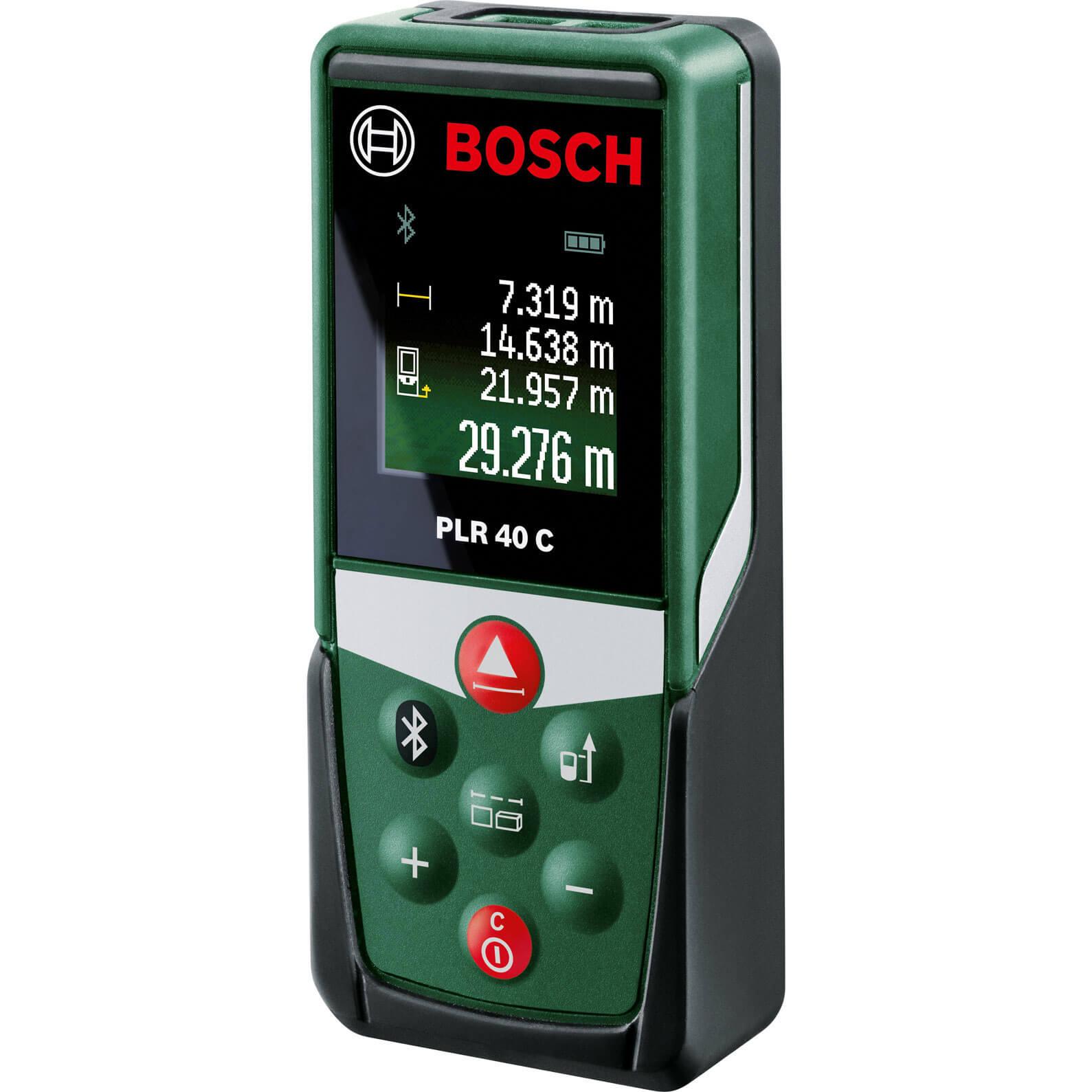 Bosch PLR 40 C Distance Laser Measure 40m