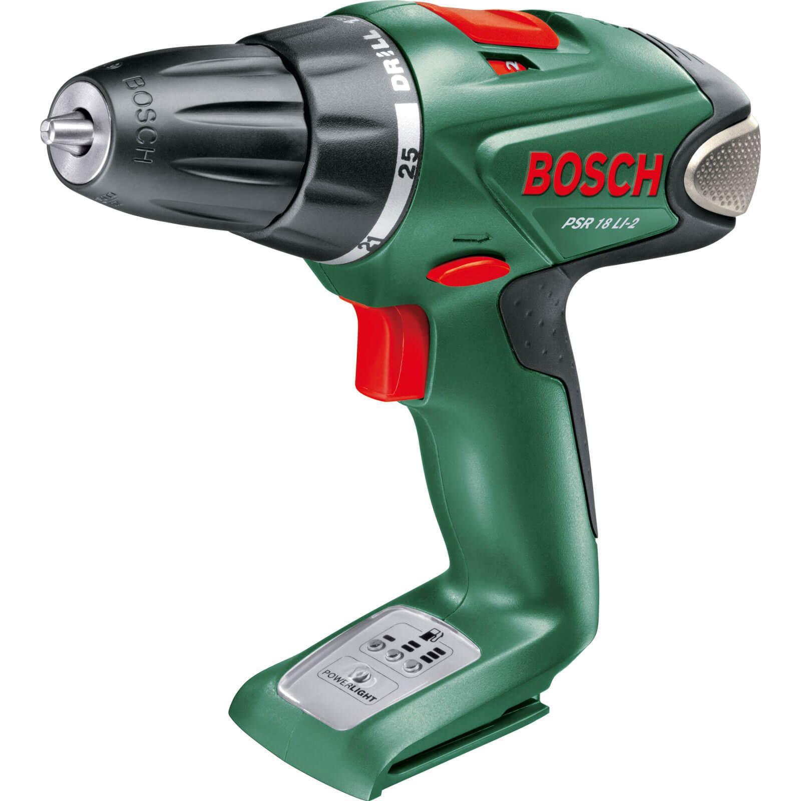 Bosch PSR 18 LI2 18v Cordless Drill Driver No Batteries No Charger No Case