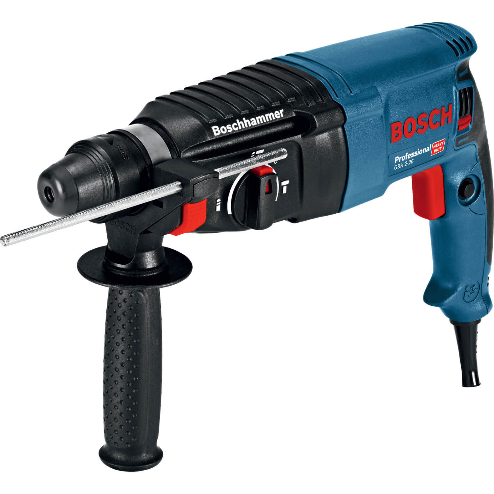 bosch gbh 2 26 sds plus 3 mode hammer drill. Black Bedroom Furniture Sets. Home Design Ideas