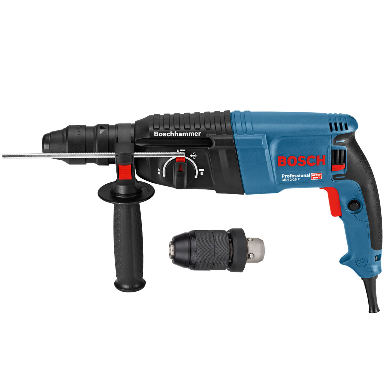 bosch gbh 2 26 f sds plus 3 mode hammer drill. Black Bedroom Furniture Sets. Home Design Ideas