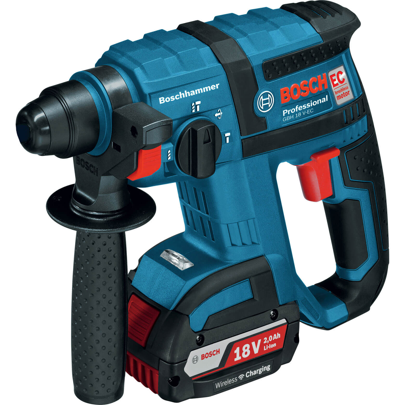 bosch gbh 18 v ec 18v cordless sds drill. Black Bedroom Furniture Sets. Home Design Ideas