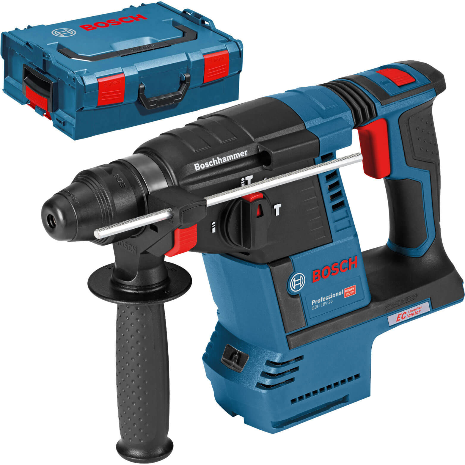 Image of Bosch GBH 18 V-26 18v Cordless SDS Drill No Batteries No Charger Case