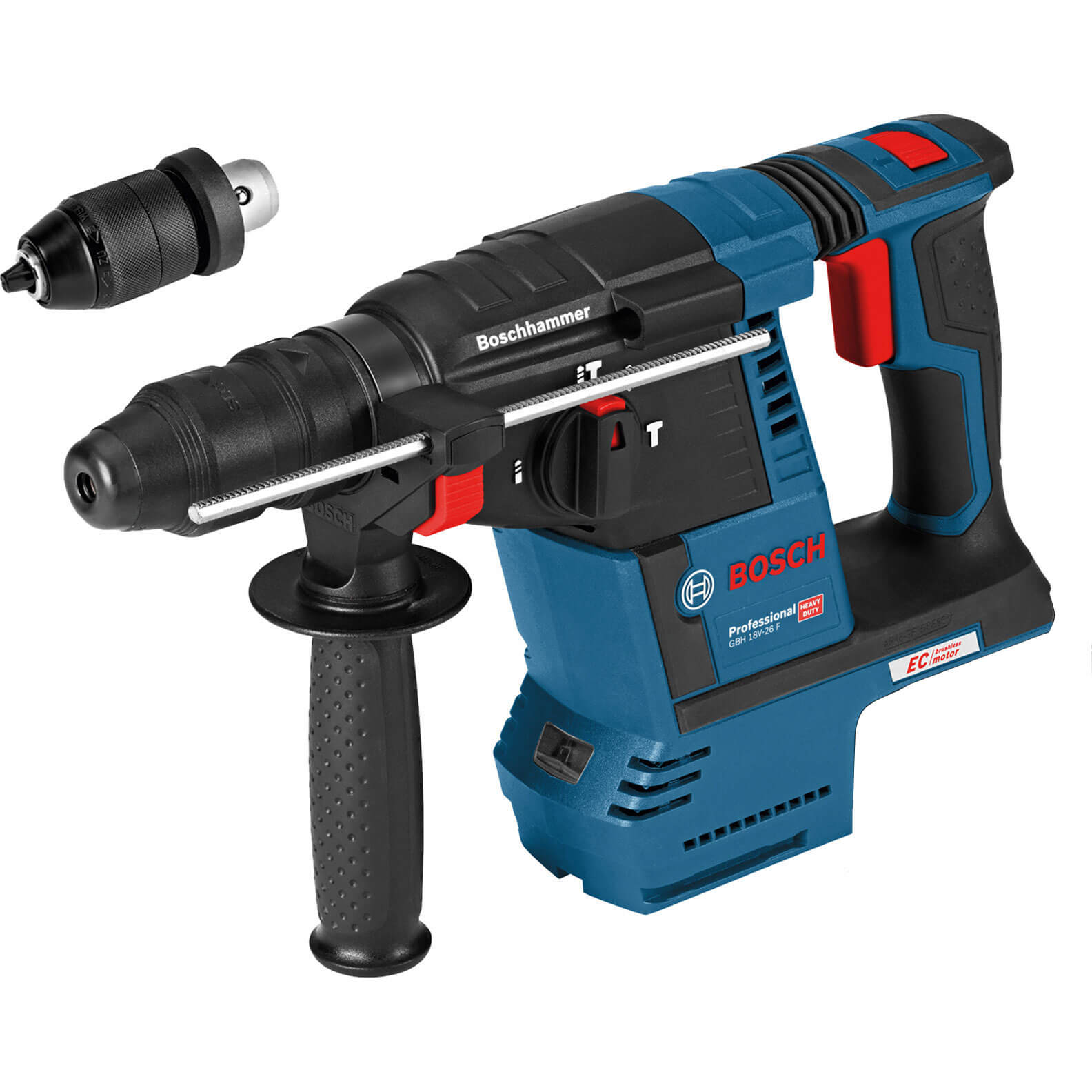 Image of Bosch GBH 18 V-26 F 18v Cordless SDS Drill No Batteries No Charger No Case