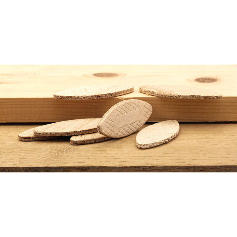 Image of Draper Wood Jointing Biscuits Assorted Pack of 100