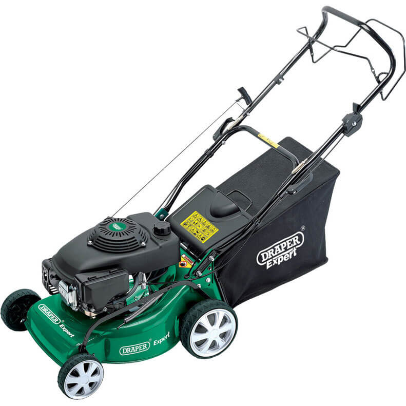 Image of Draper LMP400 Self Propelled Petrol Rotary Lawn Mower 400mm