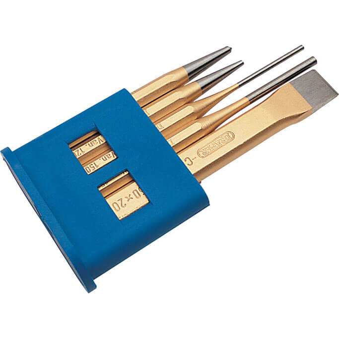 Image of Draper Expert 5 Piece Cold Chisel & Punch Set