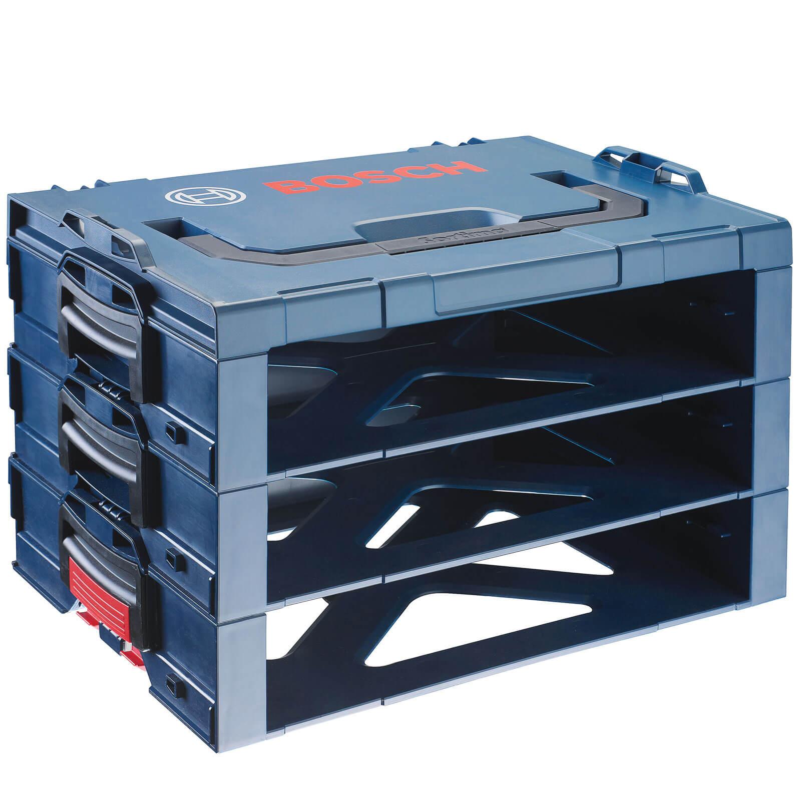 Image of Bosch i-BOXX 3 Bay Storage Case Mounting Systems