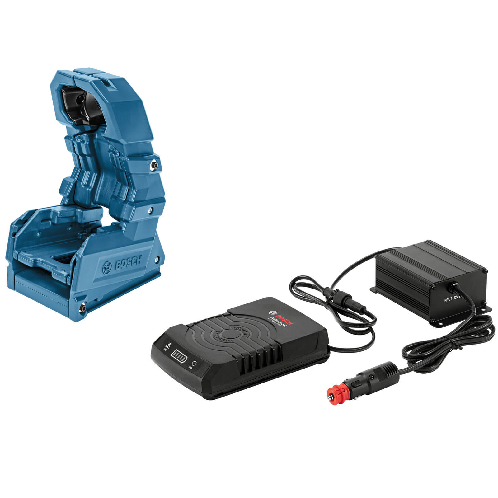 Image of Bosch GAL 1830 W-DC Wireless 18v Cordless Li-ion Battery Charger and Holster Set 12v