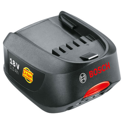 bosch power4all cordless lithium ion battery pack for green garden power tools. Black Bedroom Furniture Sets. Home Design Ideas