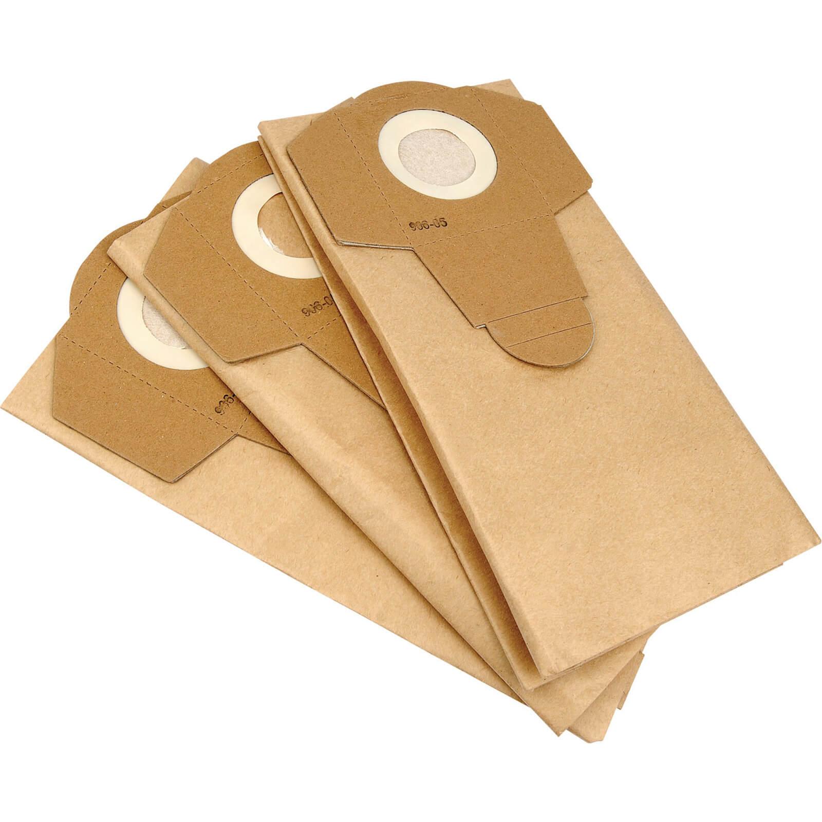Draper Paper Dust Bags for 13785 Vacuum Cleaner Pack of 3