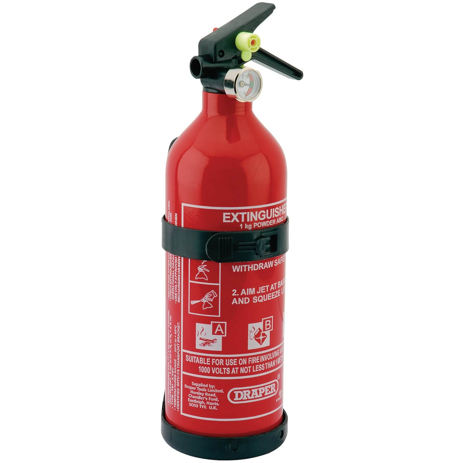 Image of Draper Dry Powder Fire Extinguisher