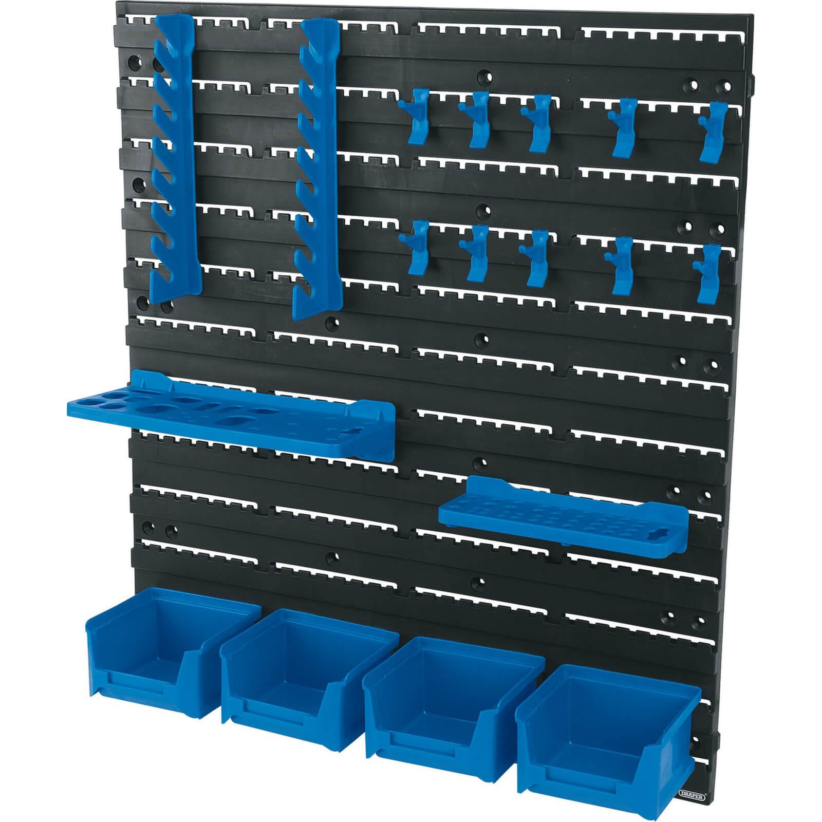 Image of Draper 18 Piece Wall Mounted Tool Storage Board