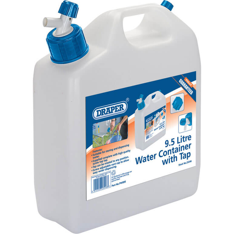 Image of Draper Water Container 9.5l