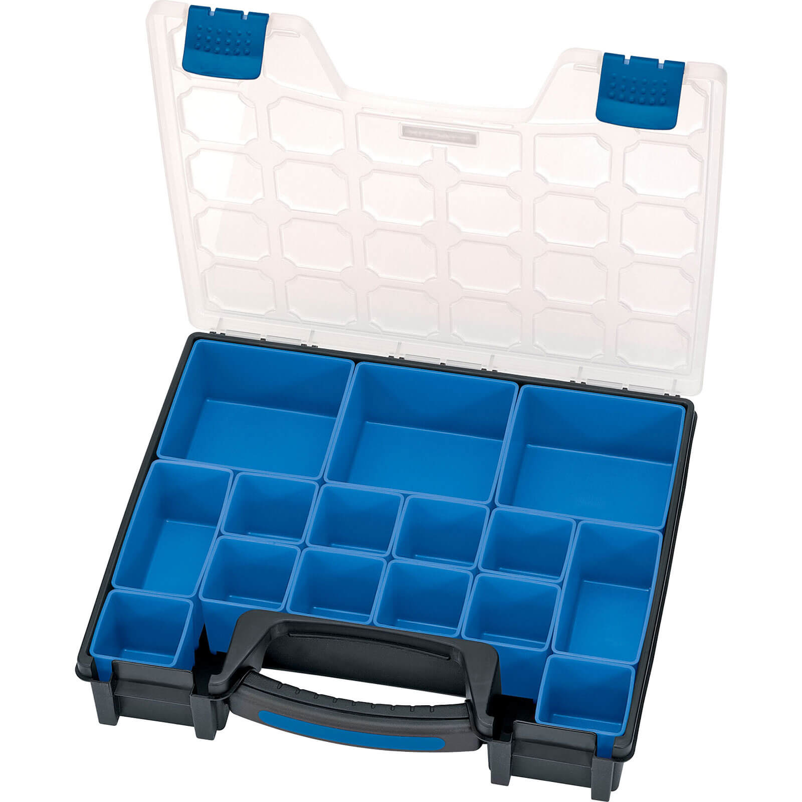 Image of Draper 15 Compartment Plastic Organiser
