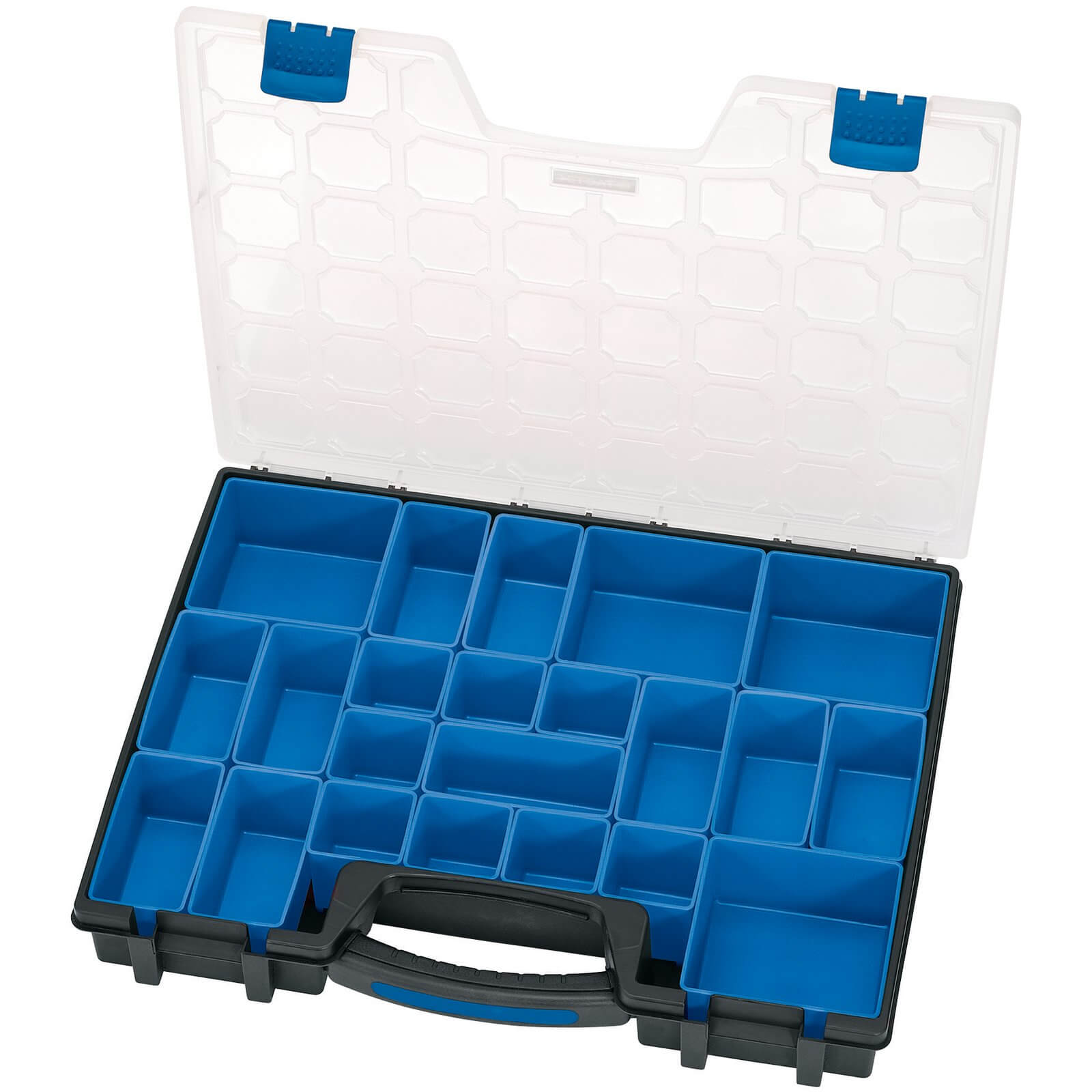 Image of Draper 22 Compartment Plastic Organiser