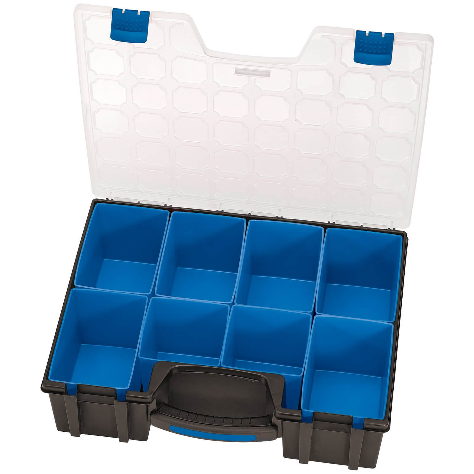 Image of Draper 8 Compartment Plastic Organiser