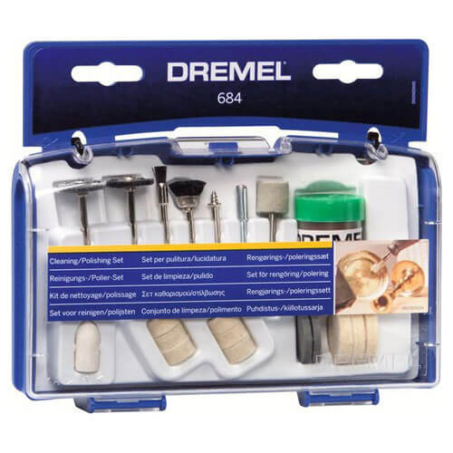 Image of Dremel 20 Piece Rotary Multi Tool Polishing Accessory Set