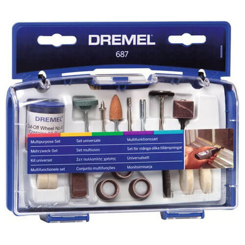 Image of Dremel 52 Piece Multi Purpose Rotary Multi Tool Accessory Set