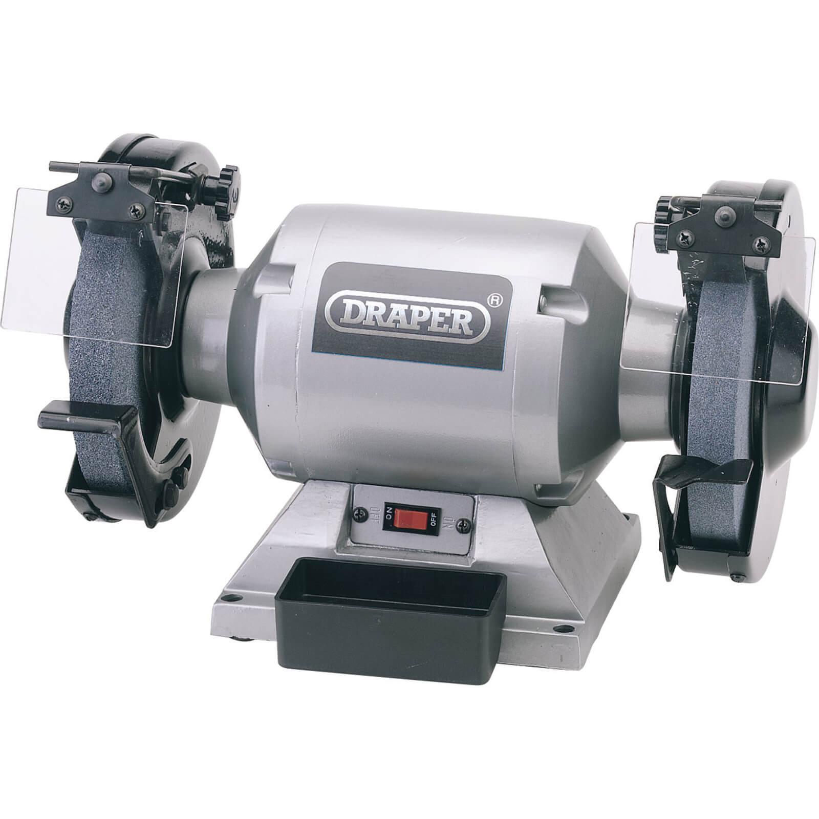 Image of Draper GHD200 200mm Heavy Duty Bench Grinder 240v