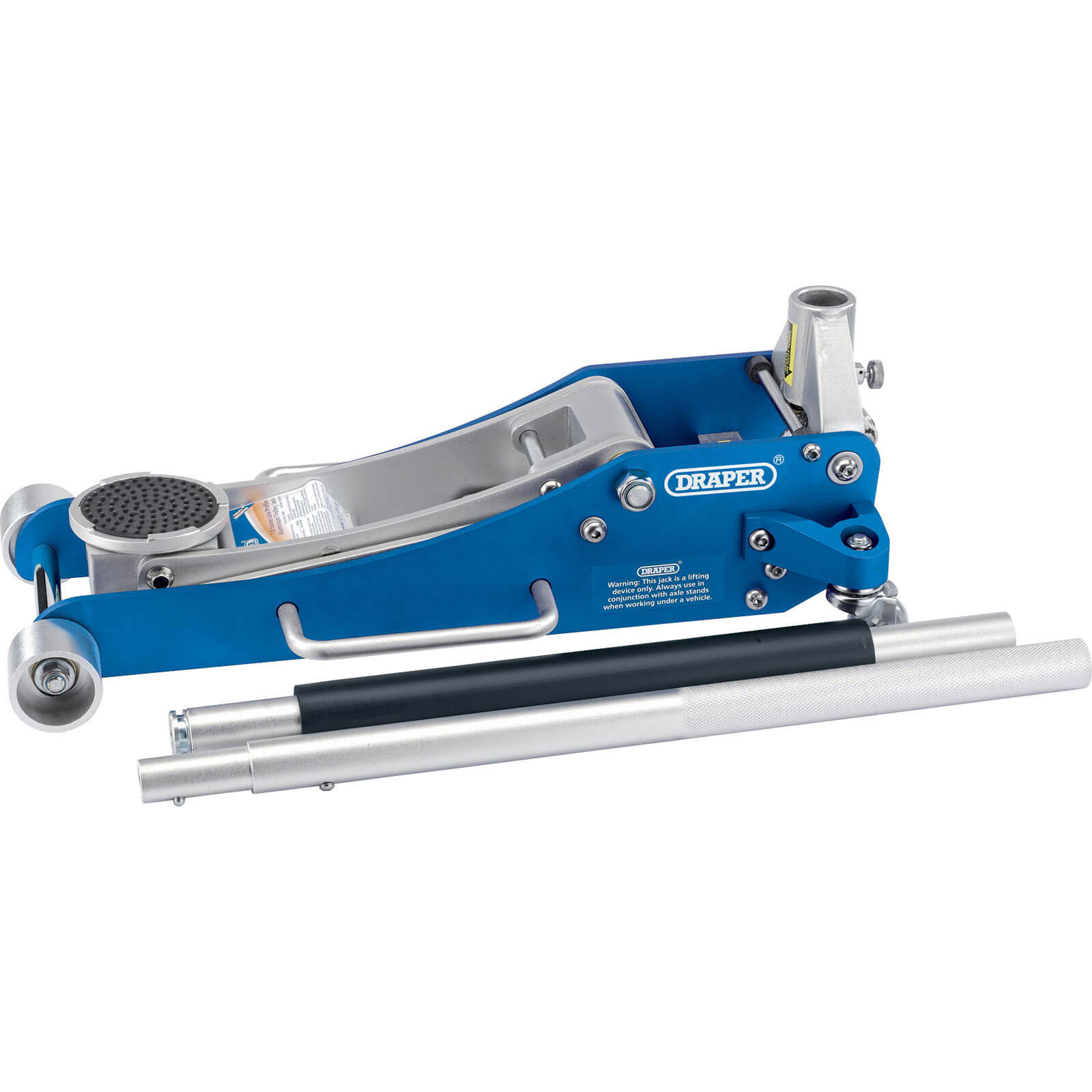 Draper TJA185 Quick Lift Aluminium Trolley Jack 1.8 Tonne