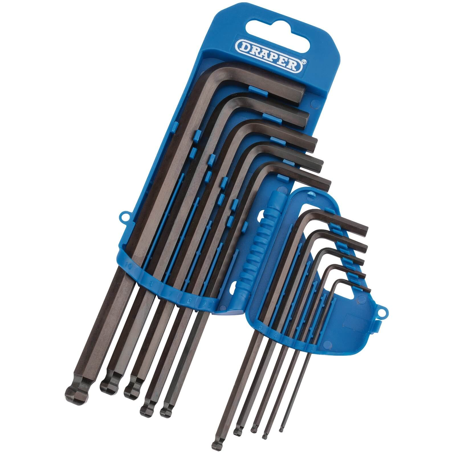 Click to view product details and reviews for Draper 10 Piece Ball End Hexagon Allen Key Set Metric.