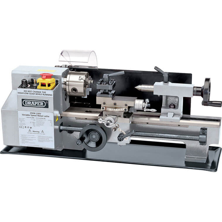Image of Draper LATHE-300 Metal Work Lathe 240v