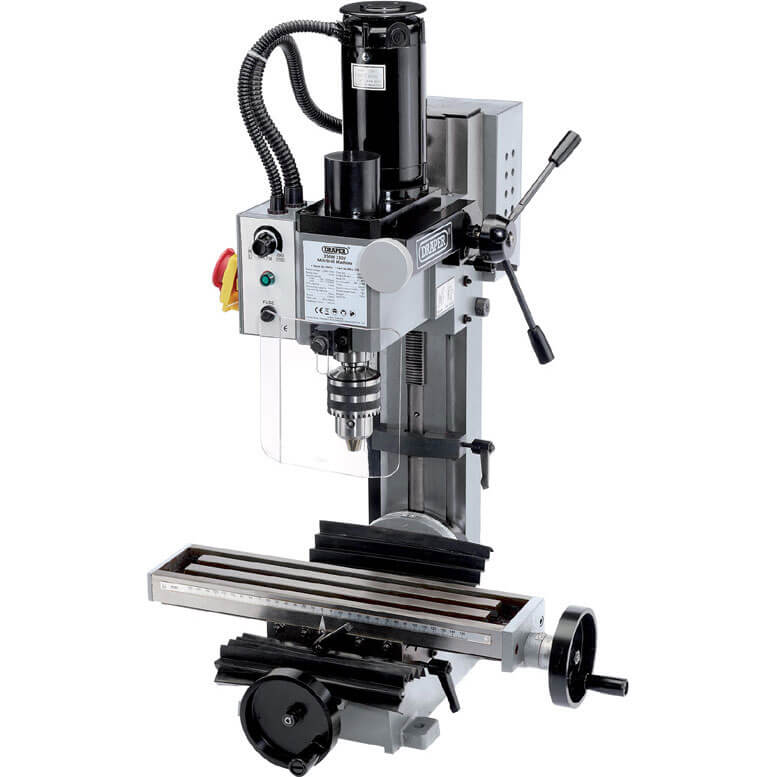 Image of Draper MILL-170 Variable Speed Bench Mini Milling & Drilling Machine 240v