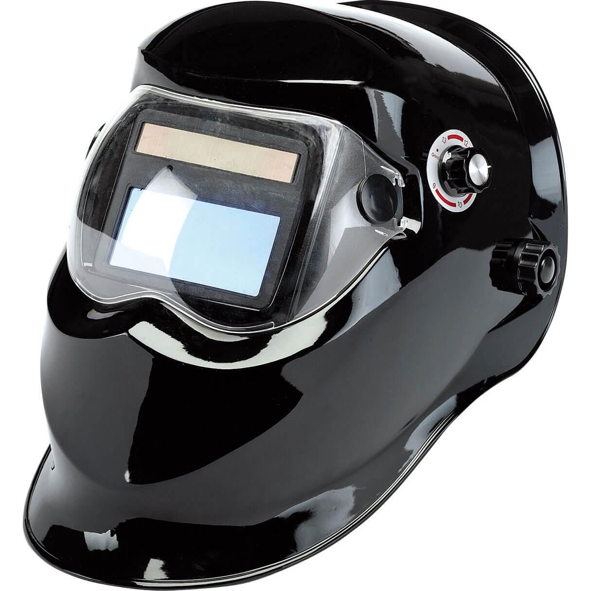 Draper Solar Auto Dimming Vario Shade Welding Helmet Black