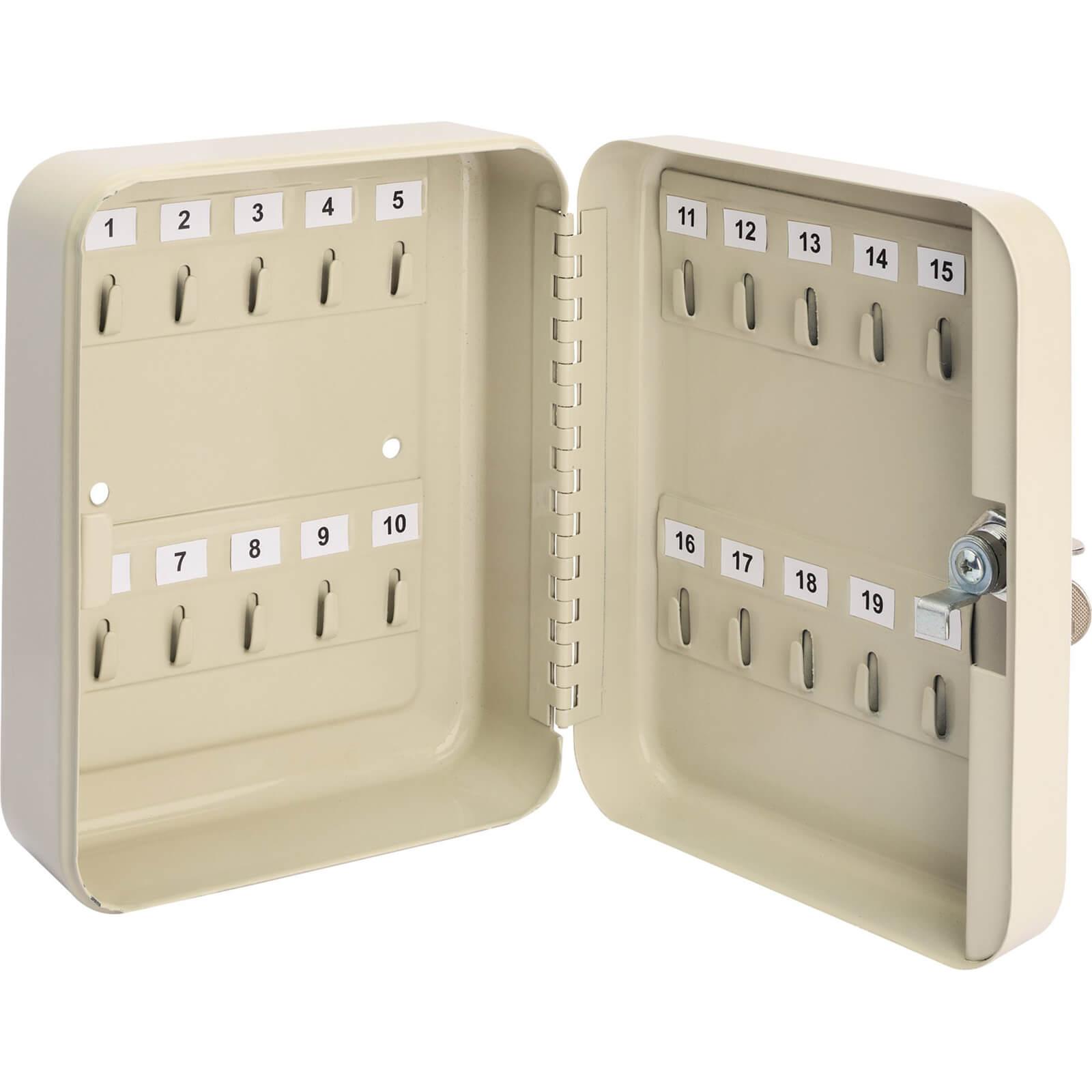 Image of Draper 20 Hook Key Cabinet Safe