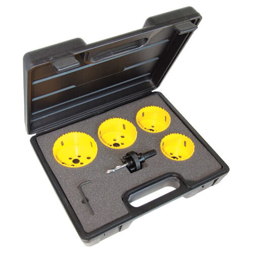 Image of CK 6 Piece Downlight Installation Hole Saw Set