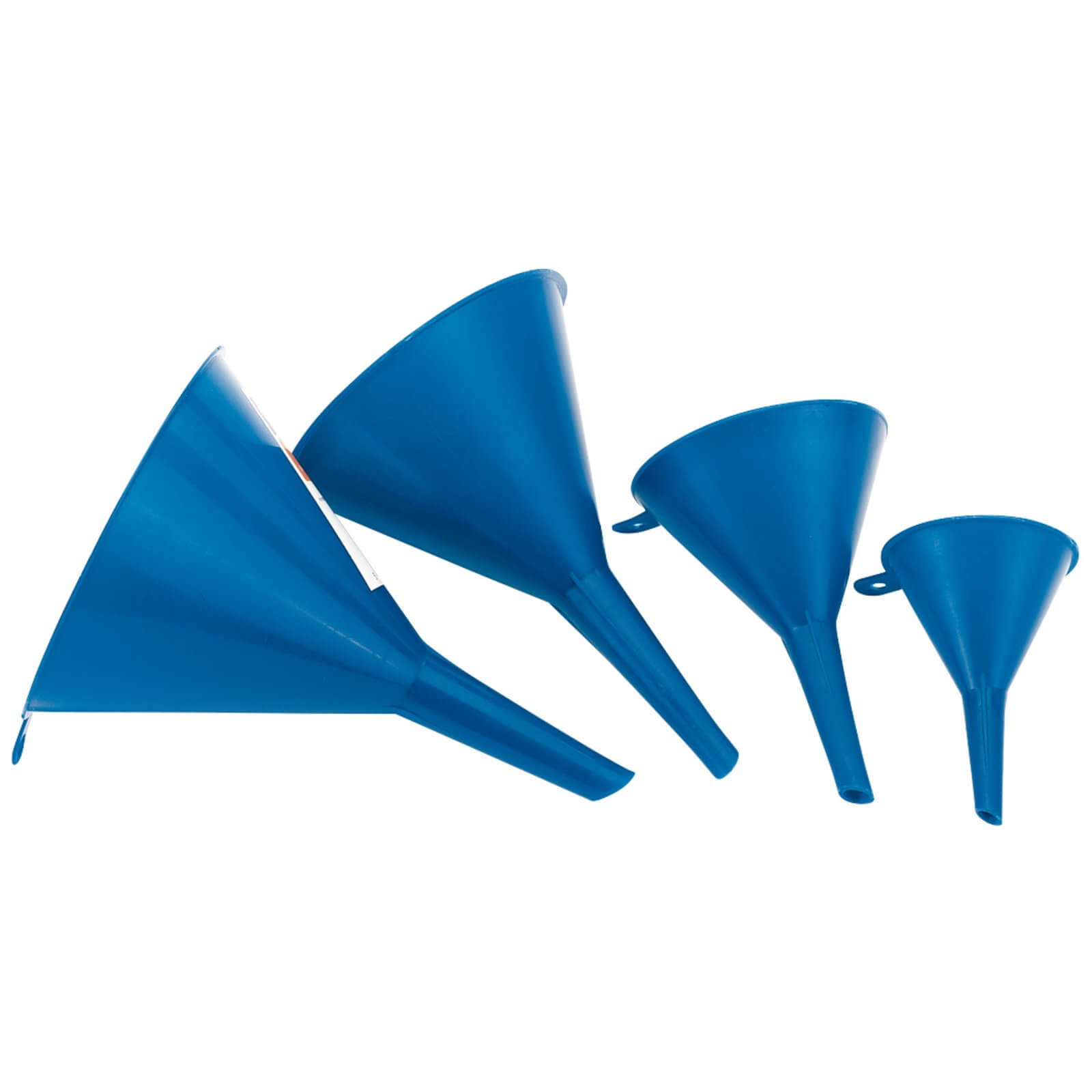 Image of Draper 4 Piece Plastic Funnel Set