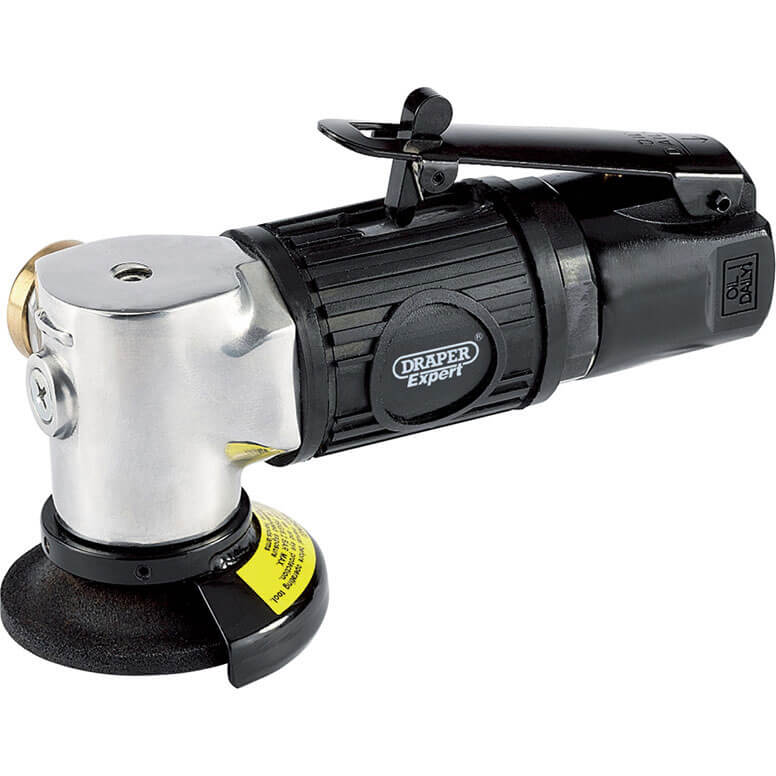 Image of Draper Expert 5225PRO Compact Air Angle Grinder Kit