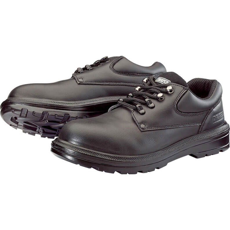 Draper Mens Safety Shoes Black Size 9