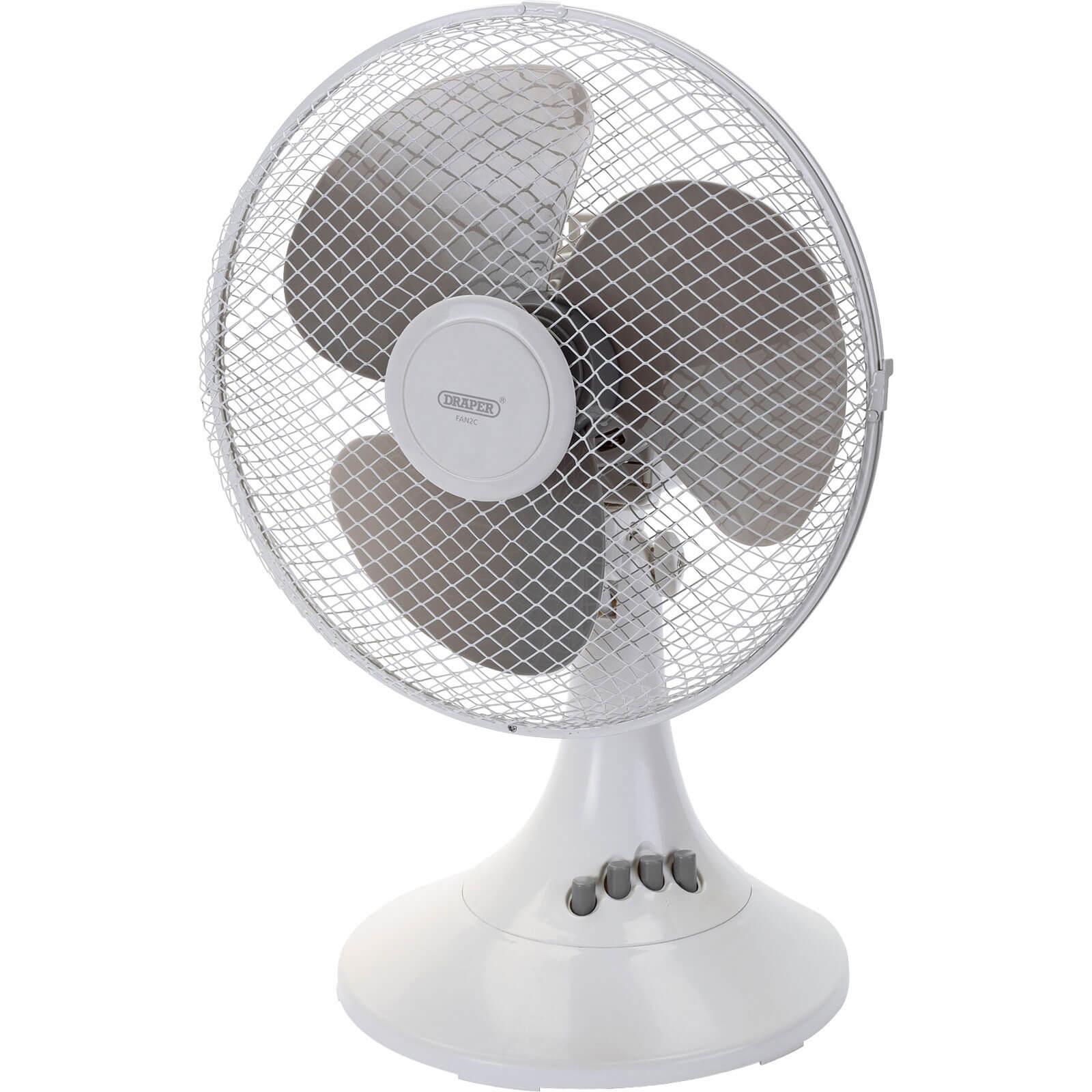 Draper FAN2C 3 Speed Desk Fan