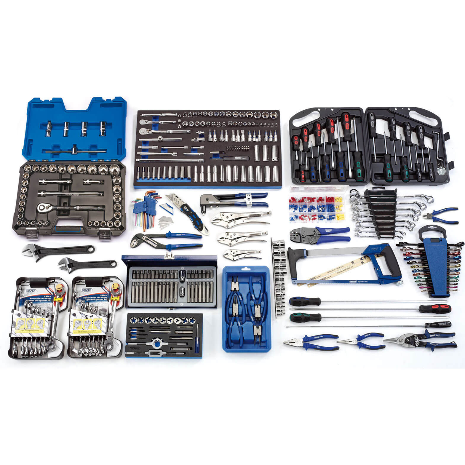 Image of Draper Workshop Deluxe Tool Kit