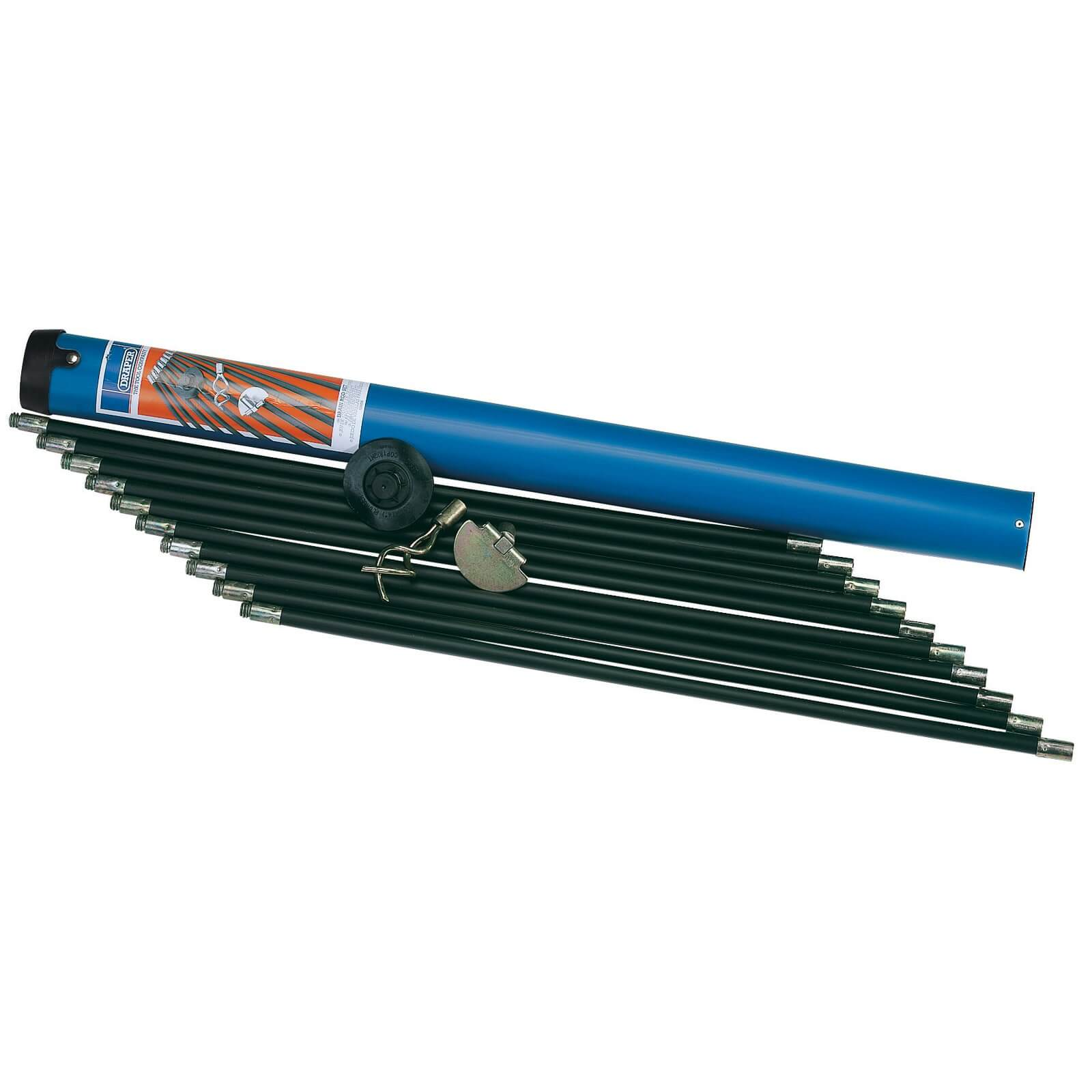 Image of Draper 13 Piece Polypropylene Drain Rod Set