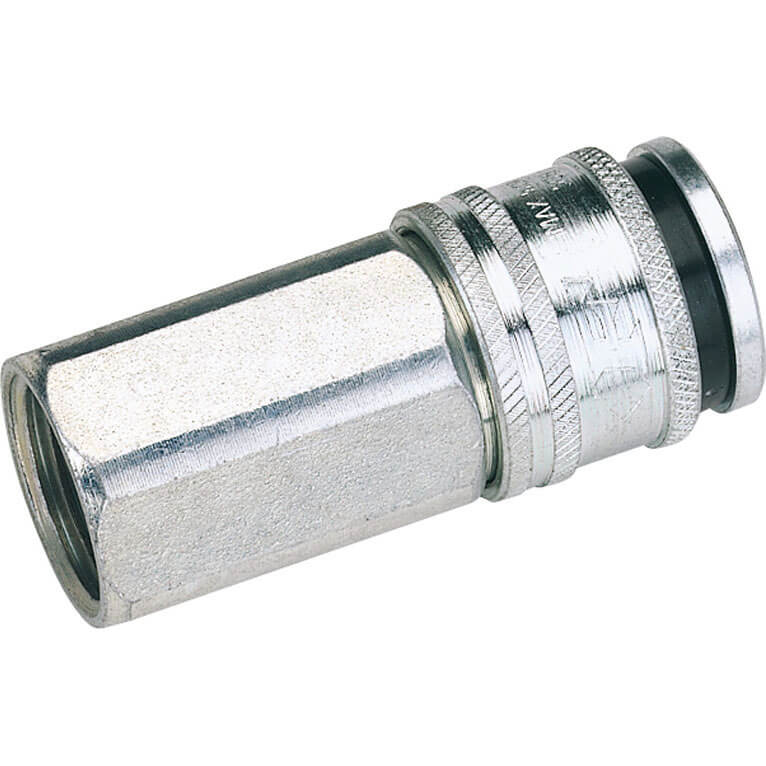 "Image of Draper Euro Air Line Coupling Female Thread 1/2"" Bsp Pack of 1"