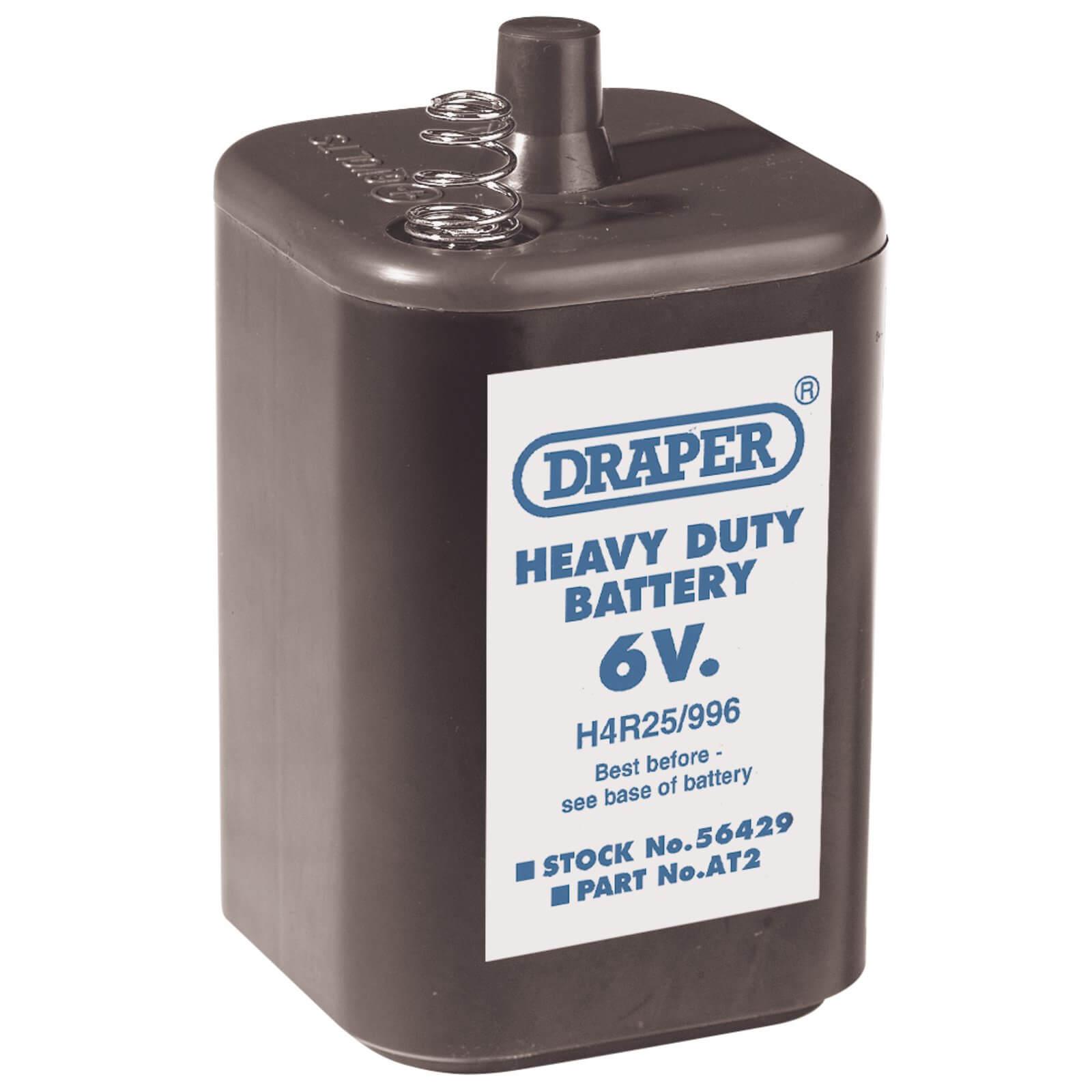 Image of Draper 6v PJ996 Size Battery Pack of 6