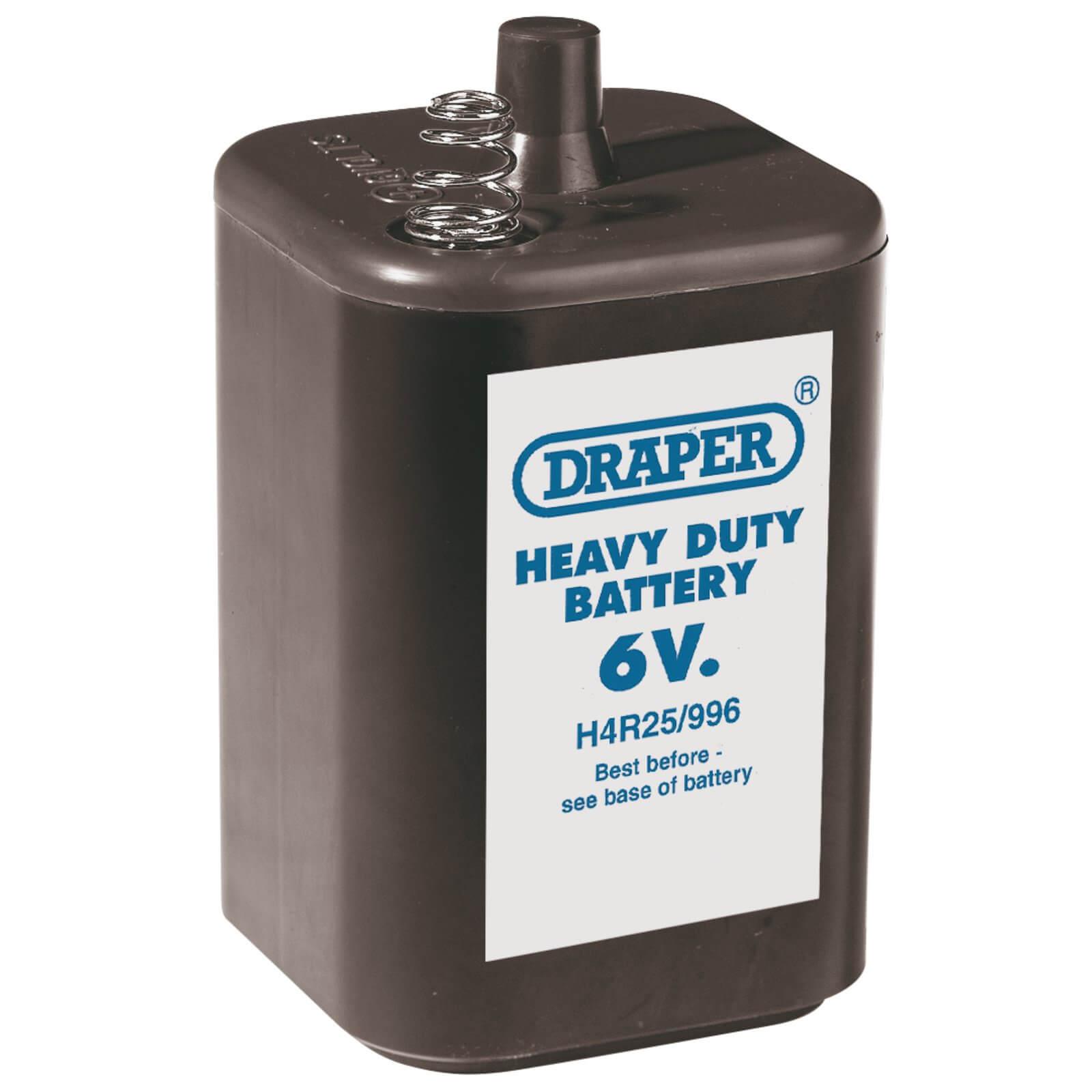 Image of Draper 6v PJ996 Size Battery Pack of 1