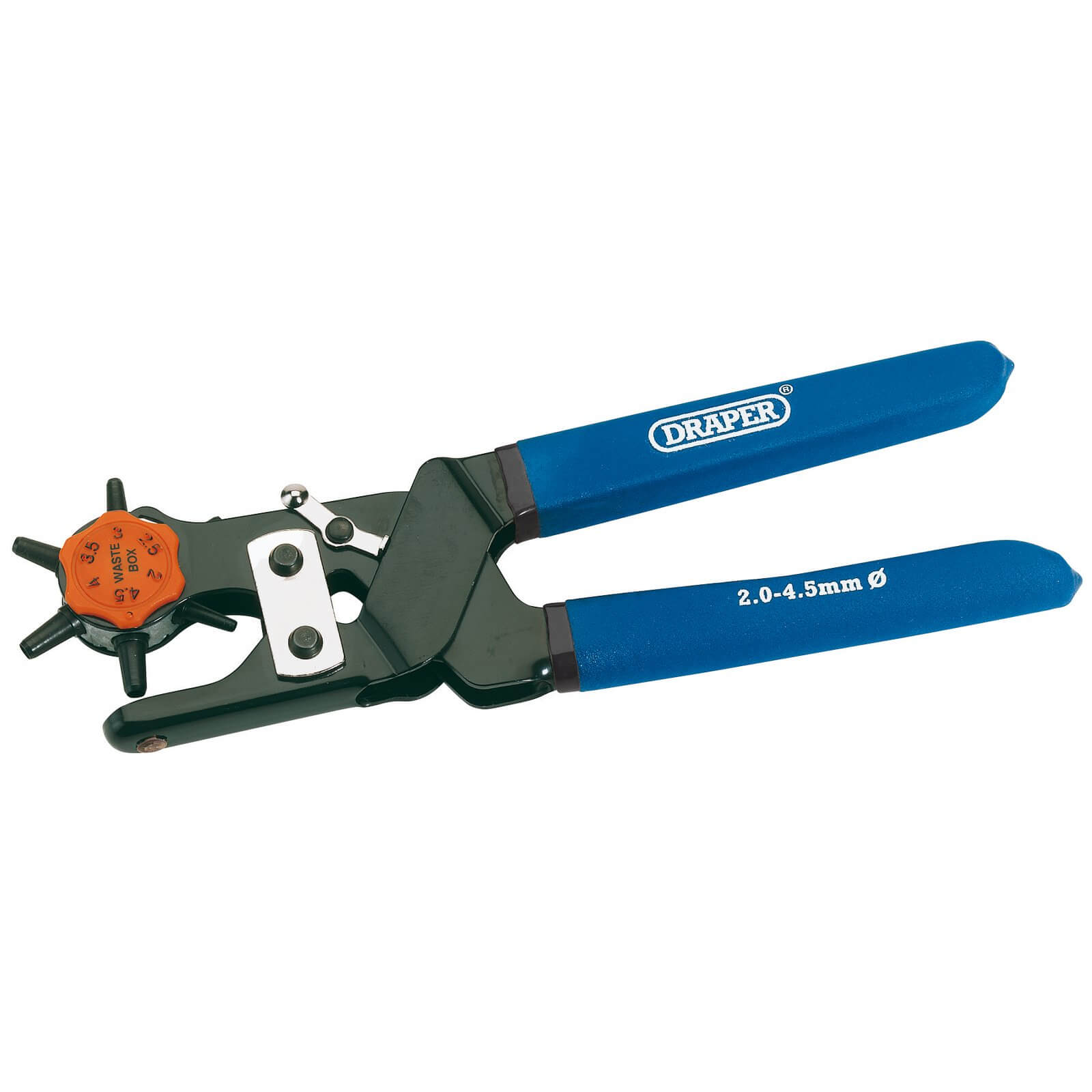 Click to view product details and reviews for Draper Expert Revolving Hole Punch Pliers.